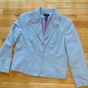 WORTHINGTON WORKS LIGHT GRAY BLAZER SIZE 16